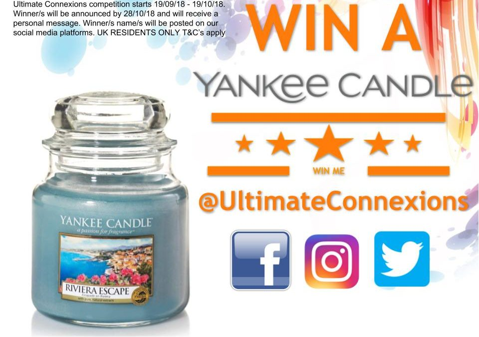 Competition Time Like Our Pages To WIN A Gorgeous Yankee Candle T&C's
